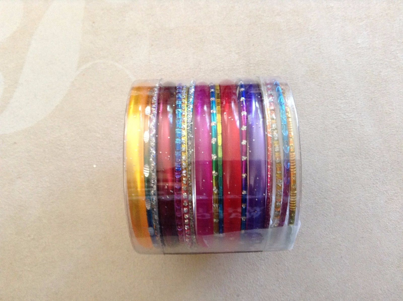 New Bracelet Sets Multi-Colored 17 Pieces Various Sizes