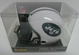 New York Jets Scotch Tape Dispenser Helmet Green White NFL NIB - $9.25