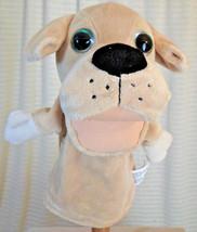 "KELLYTOY Puppy Dog Puppet Big Eyes Soft Plush Toy 10"" Interactive Play P... - $9.41"