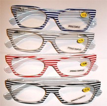 L@@K NEW STYLE 2017 AWESOME STRIPED GLASSES SO ... - $10.00