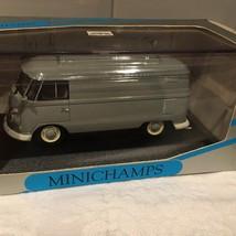 Paul's Model Art 1/43 Minichamps Vw Delivery Van(Grey) - $47.50