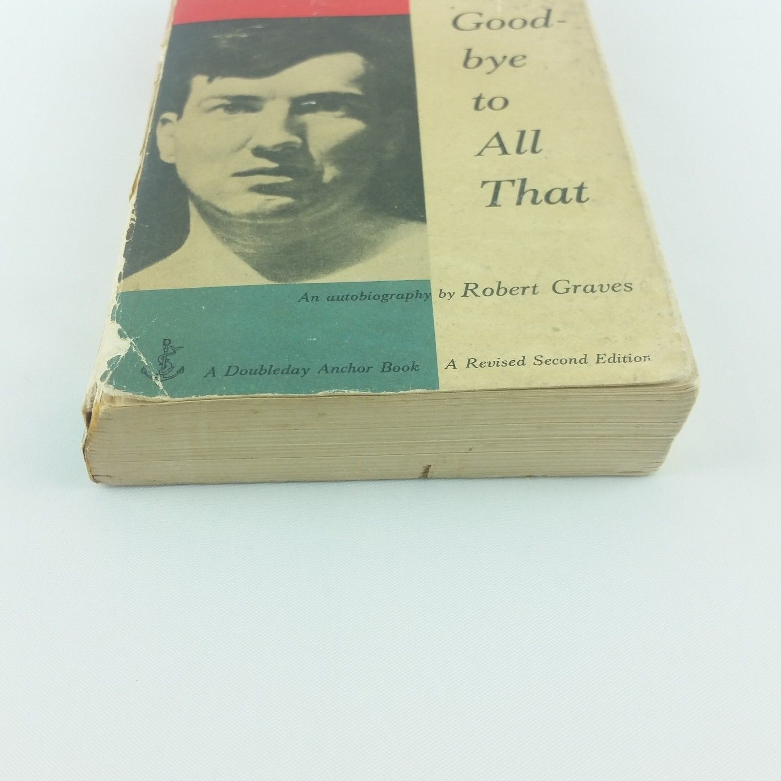 Good-bye to All That Robert Graves 1957 Vintage Book Paperback