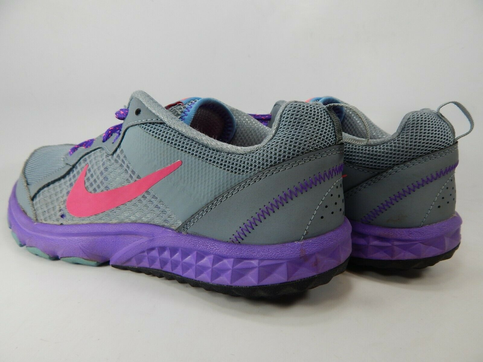 c2d1e1c600a8a Nike Wild Trail Size 9 M (B) EU 40.5 Women s Trail Running Shoes Gray