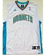 Adidas NBA Charlotte Hornets Replica White Basketball Jersey Size M NEW - $43.91