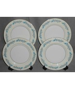 Set (4) Theodore Haviland CLINTON PATTERN Luncheon Plates NEW YORK - $39.59