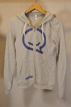 American Apparel Hoodie Zip Q HipChat Gray Size S Women - $3.95