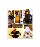 McCall's Crafts, Halloween Decorations, Tree Witch, House Witch, Ghost G... - $10.88