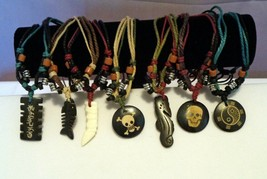 Bohemian Boho Surfer Pendant Bead Necklace Style Choice Handcrafted - $4.99