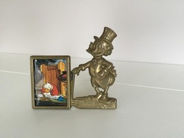 Extremely Rare! Walt Disney Scrooge McDuck Old Brass Photo Frame - $91.07