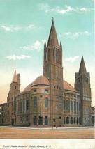 Newark New Jersey~Peddie Memorial Church~1905 Postcard - $5.00