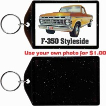 1976 Ford F-350 Pickup Truck KEYCHAIN-FREE Usa Ship - $11.87