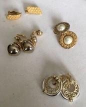 vintage clip on earrings lot - $19.80