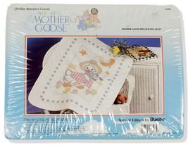 Bucilla Mother Goose Stamped Cross Stitch Crib Quilt NIP 63485 - $29.91