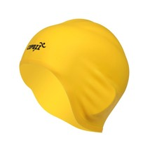 An item in the Sporting Goods category: COPOZZ Silicone Waterproof 3D elastic Swimming Caps for Men Women Long Hair Swim