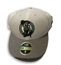 NWT New Boston Celtics New Era 59Fifty Low Profile Tech Sweep Size 8 Fitted Hat image 1
