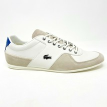 Lacoste Taloire 16 SRM Off White Leather Suede Mens Size 11 Casual Sneakers - $89.95