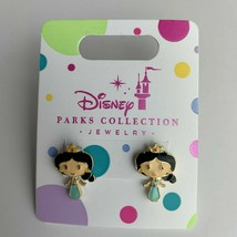 Disney Parks Princess Pierced Earrings Jewelry Girls Jasmine - $6.16