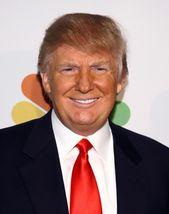 Donald Trump President Vintage 11X14 Color Business Memorabilia Photo - $12.95