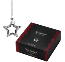 "Waterford Crystal 2018 Star Christmas Ornament 4.1"" 40030983 BNIB"