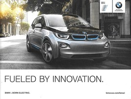 2014 BMW i3 sales brochure catalog 14 US Electric i8 - $12.00