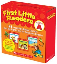 First Little Readers Parent Pack: Guided Reading Level A: 25 Irresistibl... - $14.85