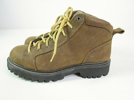 American Eagle Outfitters Hiking Boots Chunky Brown 90's Style Women's Size 9  - $32.38