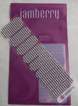 Jamberry Nautical Nail Wrap ( Half Sheet )  New - $7.56