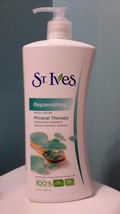St Ives Deep Replenishing Mineral Therapy Body Lotion 21 Ounce Large Siz... - $17.09