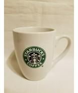 Starbucks Coffee Mug Classic White Retired 2007 Siren Mermaid Logo 10.2 ... - $16.82