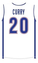 Stephen Curry #20 Knights High School New Men Basketball Jersey White Any Size image 5