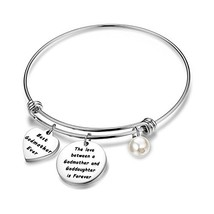 PLITI Baptism Gifts Love Between A Godmother and Goddaughter is Forever ... - $17.16