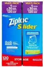 Ziploc Slider Storage Bags, Gallon, 120 Ct - $31.67