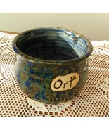 Ort Jar (F) handmade handcrafted pottery cross stitch  - $17.00