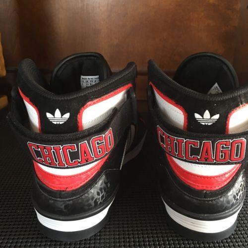 new product 12971 e40bc Chicago Bulls Adidas Originals Space Diver Shoes Boys Size 6 Rare