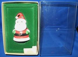Santa Bell Hallmark Christmas Ornament 1982 with Original Box and Tag - $6.00