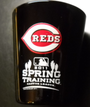 Cincinnati Reds Shot Glass 2011 Spring Training Cactus League Black Red ... - $6.99