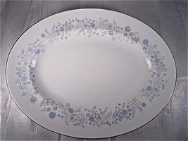 Wedgwood Belle Fleur Oval Serving Platter  - $94.00