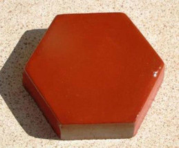 "6 Hexagon Driveway Patio Paver Molds 9""x2.5"" Make 100s of DIY Pavers For Pennies image 7"