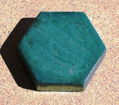 "6 Hexagon Driveway Patio Paver Molds 9""x2.5"" Make 100s of DIY Pavers For Pennies image 5"
