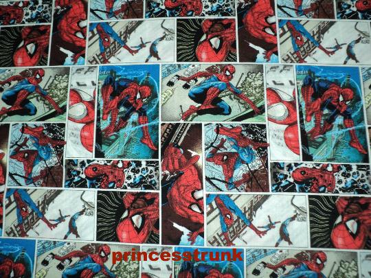 Spidermanpatch fabric