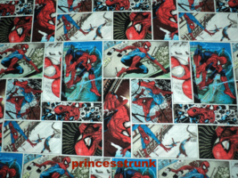 NEW Handmade Marvel Spider-Man Patchworks Dress Custom Sz 12M-14Yrs - $54.98