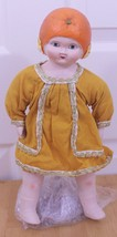 Louis Amberg LA&S Sunny Orange Blossom Maid 1924 Reproduction Bisque Doll - $179.95