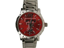 Texas Tech Red Raiders Men's Watch Rhinestone Officially Licensed Product - $28.02