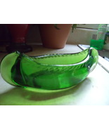 Depression Glass Green Canoe - $30.00