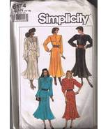 Simplicity 8174 Misses Dress - Size 10-16 - Cut... - $3.00