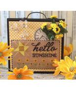 Hello Sunshine cross stitch chart Needle Bling ... - $7.20