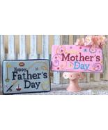 Happy Parents Day mom dad cross stitch chart Ne... - $9.00