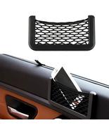 Car Organizer Nets 15X8cm Automotive Pockets With Adhesive Visor - $4.45