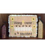 Along Came A Blackbird cross stitch chart Needl... - $7.20