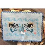 Mermaid Needle Book cross stitch chart Needle B... - $7.20